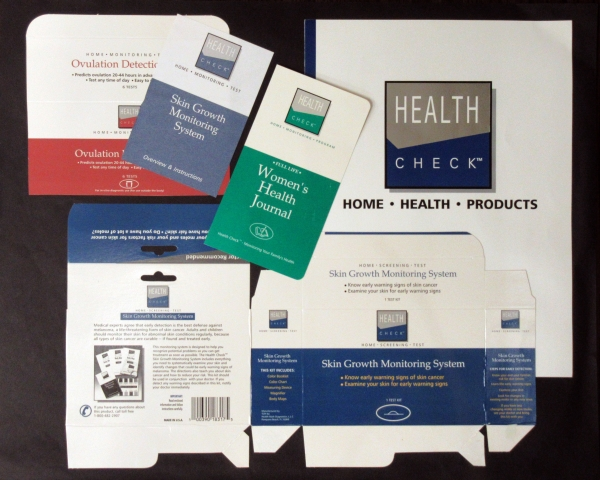 Packaging Samples - Health Check