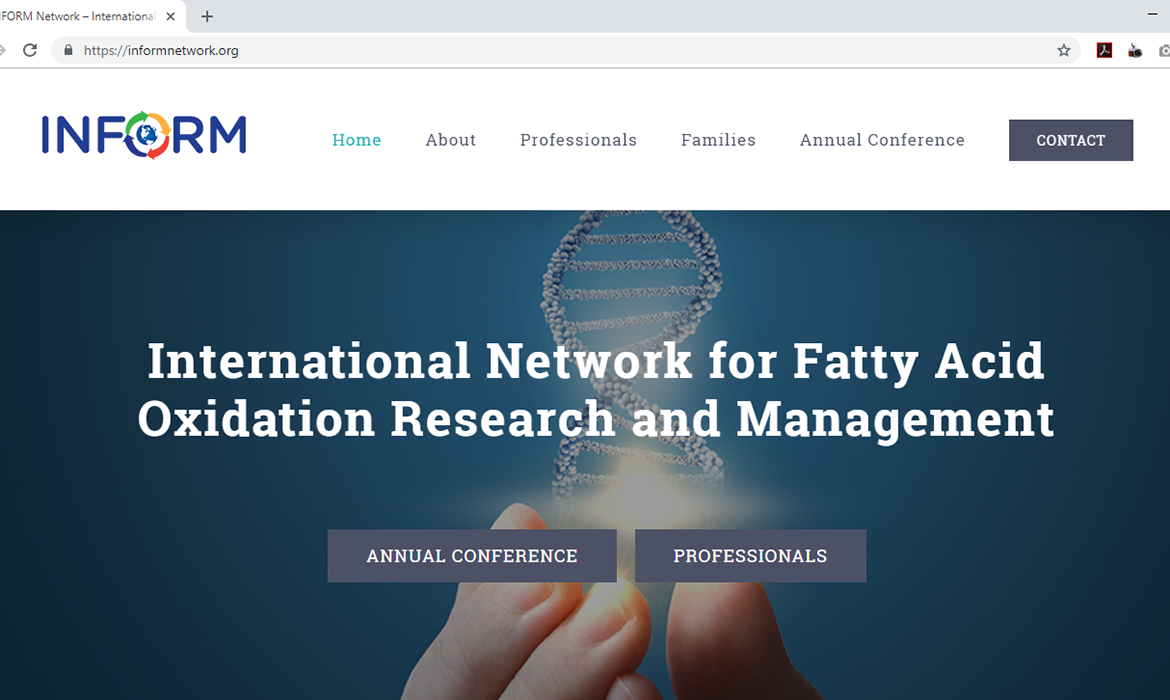 After picture of the INFORM Network Website