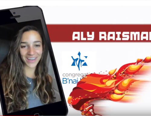 Aly Raisman Shout-Out Video for Special Event: Forever Fierce