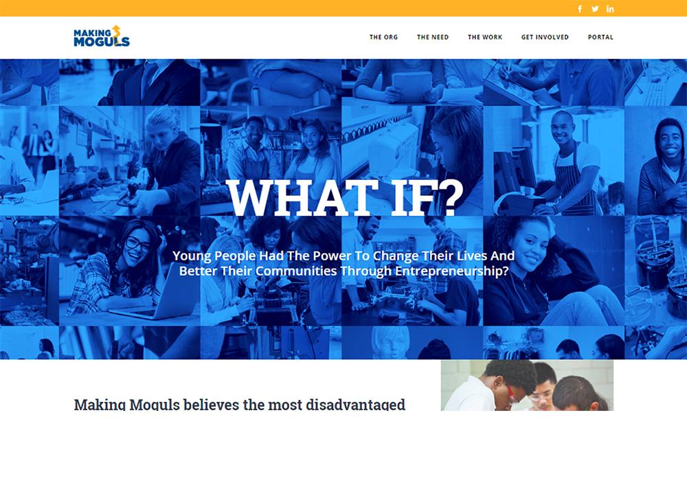 Making Moguls Website